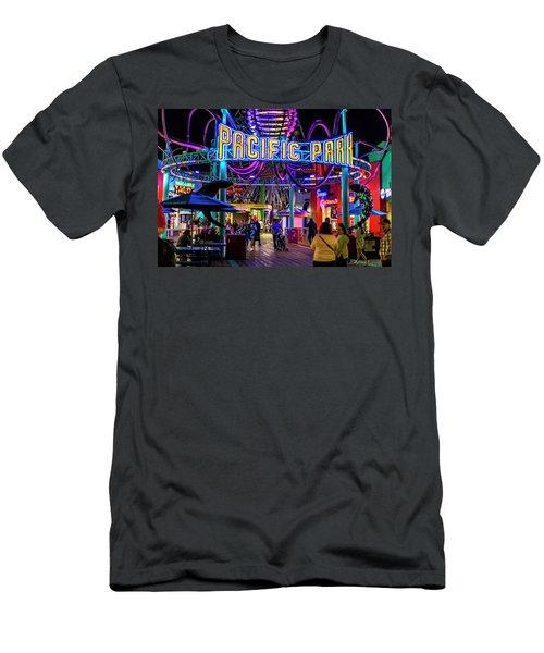 Pacific Park - On The Pier Men's T-Shirt (Athletic Fit)