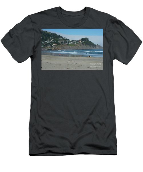 Men's T-Shirt (Slim Fit) featuring the photograph Pacifica California by David Bearden