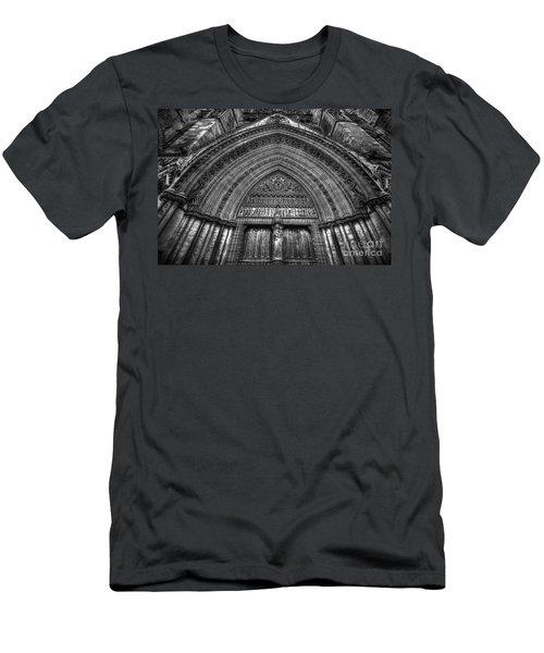 Pacis Exsisto Vobis Men's T-Shirt (Slim Fit) by Yhun Suarez