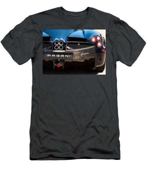 Pagani Huayra Black Men's T-Shirt (Athletic Fit)