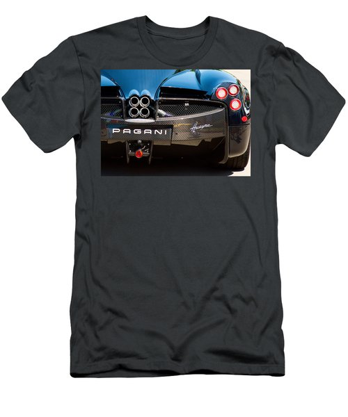Pagani Huayra Black Men's T-Shirt (Athletic Fit)