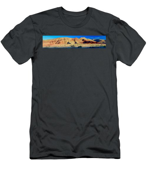 Painted Hills Extreme Pano  Men's T-Shirt (Athletic Fit)