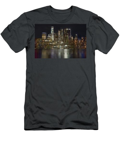 Painted Lights Men's T-Shirt (Athletic Fit)