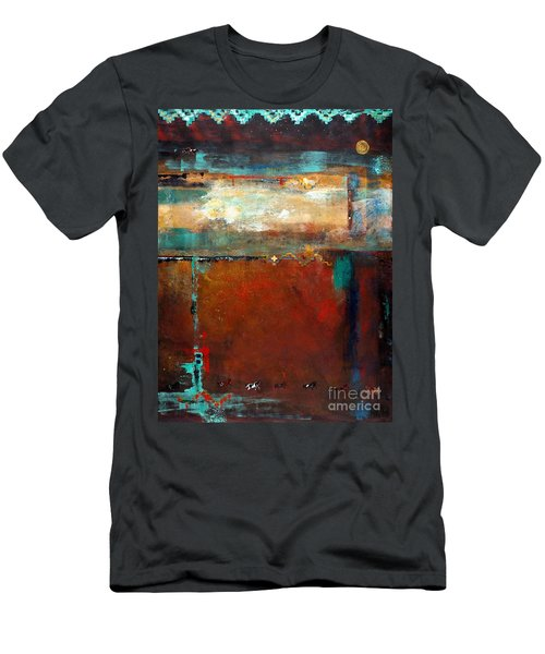 Painted Ponies Men's T-Shirt (Slim Fit) by Frances Marino