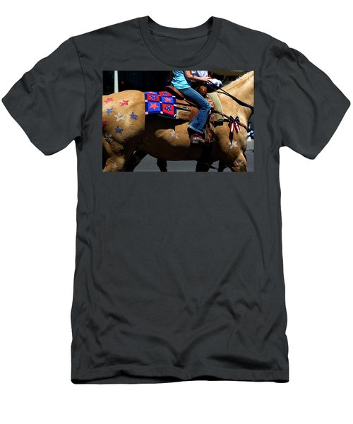 Men's T-Shirt (Athletic Fit) featuring the photograph Painted Pony by Lorraine Devon Wilke