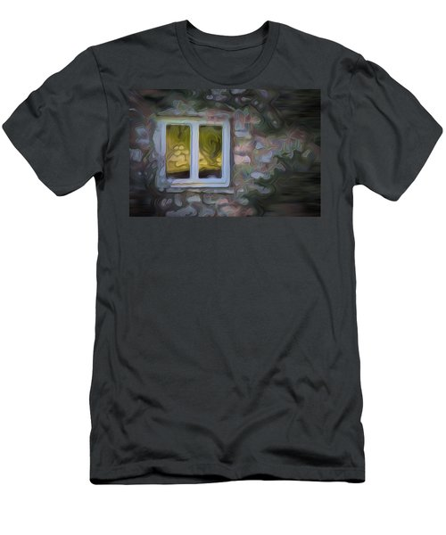 Painted Window Men's T-Shirt (Athletic Fit)