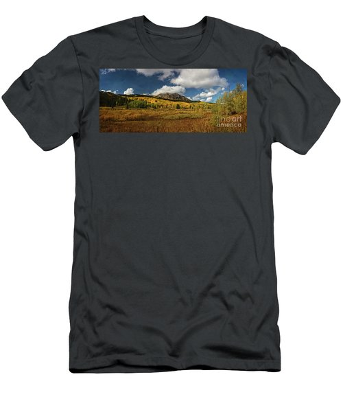 Painterly Kebler Pass Men's T-Shirt (Athletic Fit)