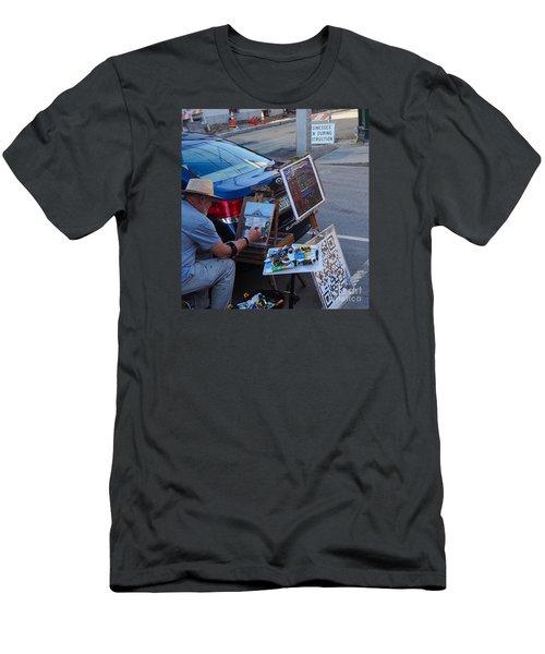 Painting Penhallow Men's T-Shirt (Athletic Fit)