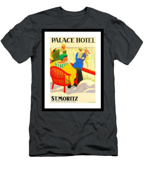 Palace Hotel St Moritz Men's T-Shirt (Athletic Fit)