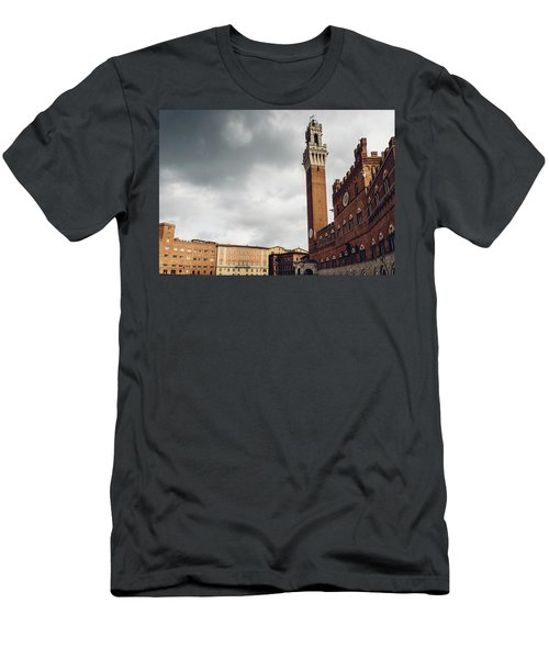 Palazzo Pubblico, Siena, Tuscany, Italy Men's T-Shirt (Athletic Fit)