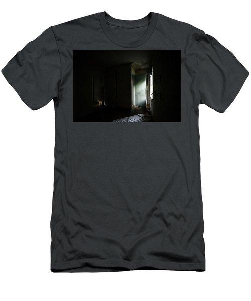 Pale Green Door Men's T-Shirt (Athletic Fit)