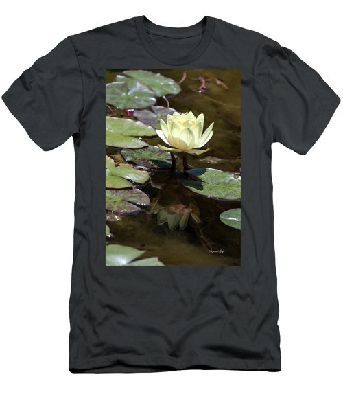 Pale Yellow Beauty Men's T-Shirt (Athletic Fit)