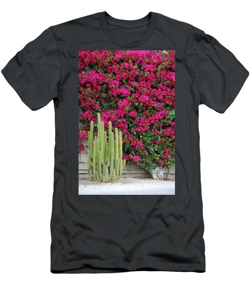 Palm Desert Blooms Men's T-Shirt (Athletic Fit)