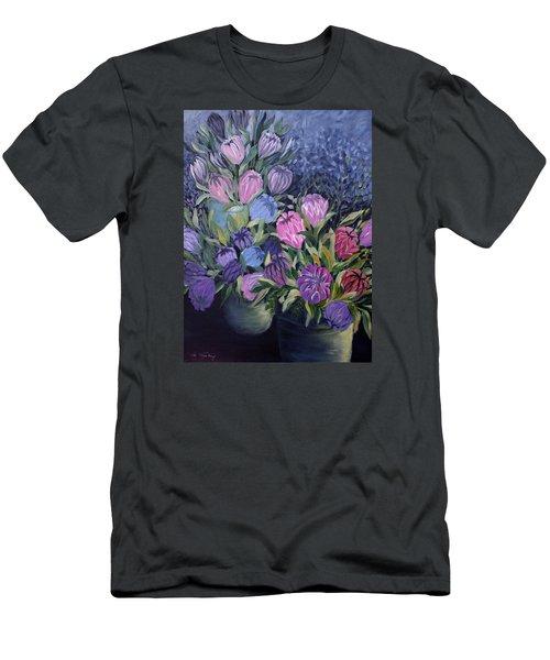 Palm Springs Market Favorites Men's T-Shirt (Slim Fit) by Joanne Smoley