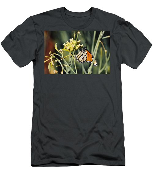 Men's T-Shirt (Slim Fit) featuring the photograph Palm Springs Monarch by Kyle Hanson