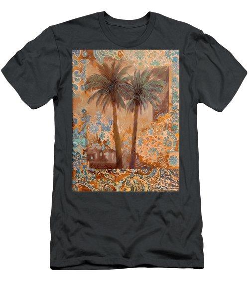 Palme E Decori Men's T-Shirt (Athletic Fit)