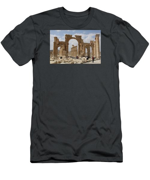 Palmyra Before...triumphal Arch Men's T-Shirt (Athletic Fit)