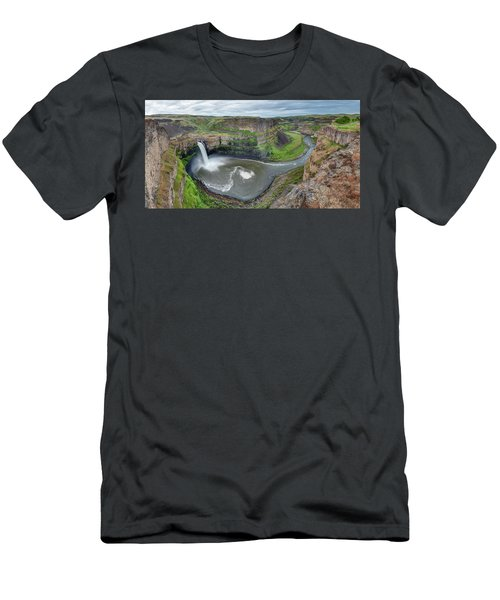 Palouse Falls In The Spring Men's T-Shirt (Athletic Fit)