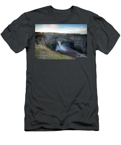 Palouse Falls Sunrise Men's T-Shirt (Athletic Fit)