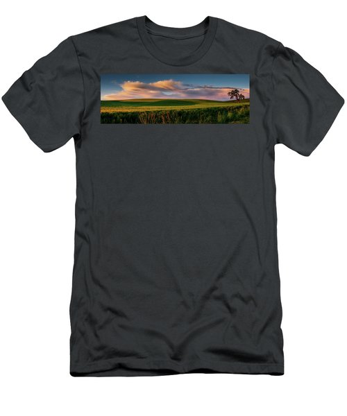Men's T-Shirt (Slim Fit) featuring the photograph Palouse Tree Of Life by Dan Mihai