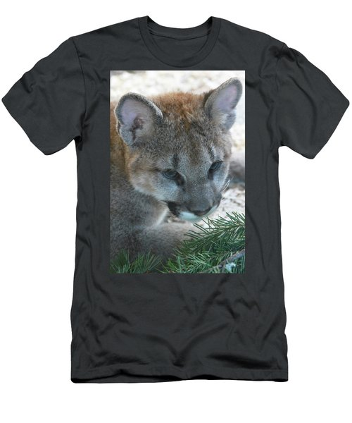 Men's T-Shirt (Slim Fit) featuring the photograph Palus by Laddie Halupa