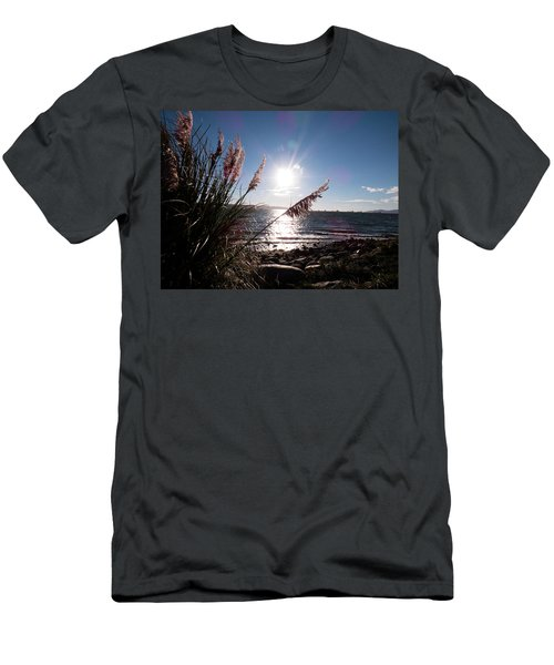 Pampas By The Sea Men's T-Shirt (Athletic Fit)