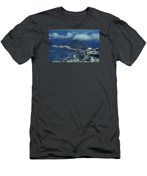 Pan De Azucar - Rio De Janeiro Men's T-Shirt (Athletic Fit)