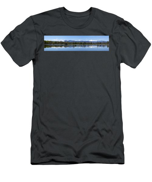 Panorama Of Front Range Men's T-Shirt (Athletic Fit)