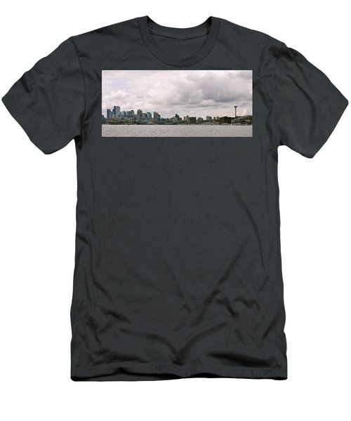 Panoramic Seattle Men's T-Shirt (Athletic Fit)