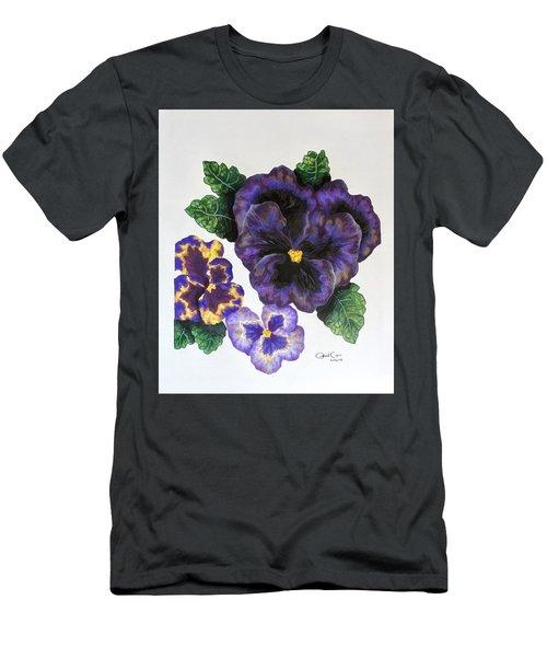 Pansy Men's T-Shirt (Athletic Fit)