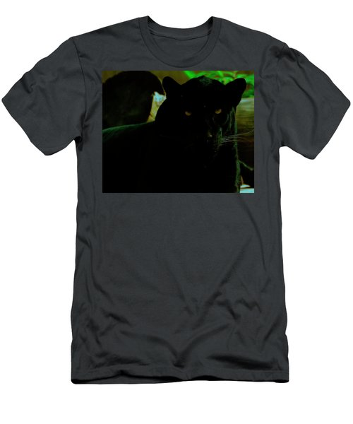 Men's T-Shirt (Athletic Fit) featuring the photograph Panther by Chris Flees