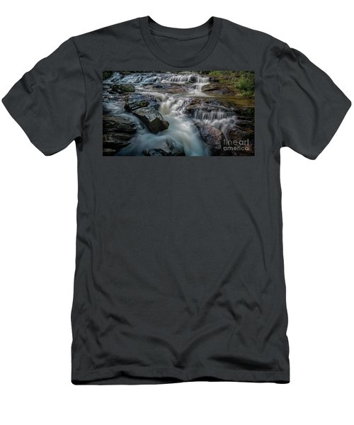 Panther Creek Upper Falls Men's T-Shirt (Athletic Fit)