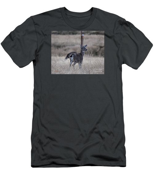 Papa Deer Men's T-Shirt (Athletic Fit)