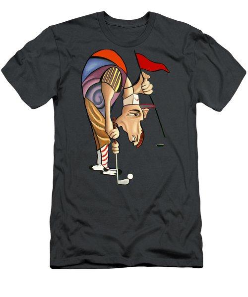 Par For The Course T-shirt Men's T-Shirt (Athletic Fit)