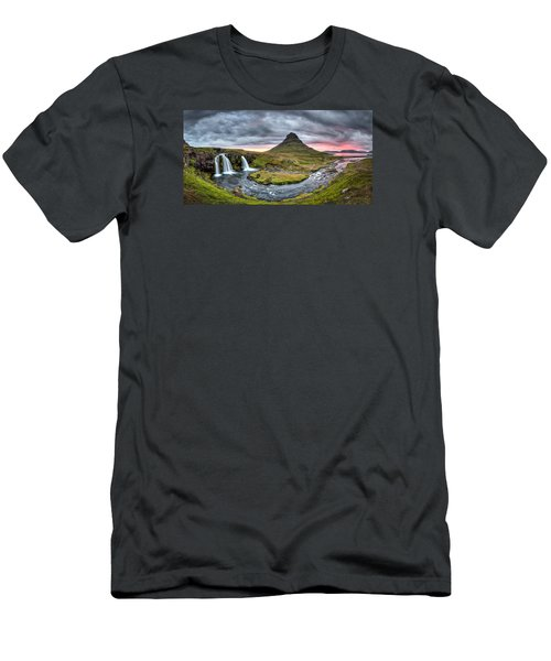 Paradise Found - Panorama Men's T-Shirt (Athletic Fit)