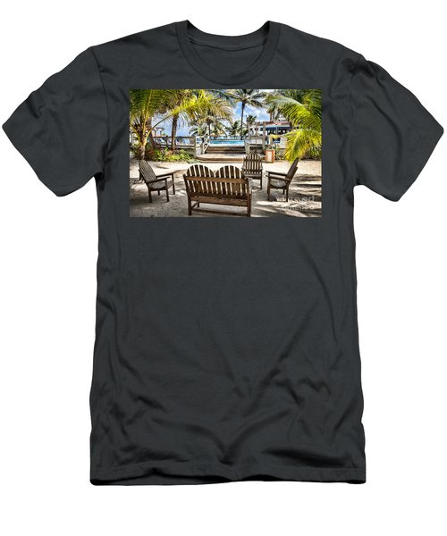 Paradise Men's T-Shirt (Slim Fit) by Lawrence Burry