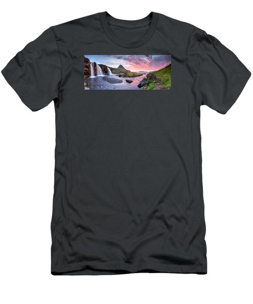 Paradise Lost - Large Panorama Men's T-Shirt (Slim Fit) by Brad Grove