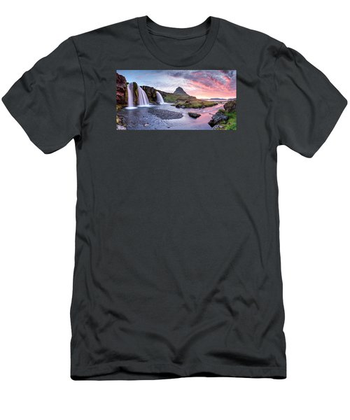 Paradise Lost - Panorama Men's T-Shirt (Slim Fit) by Brad Grove