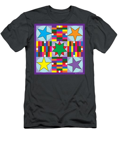 Parcheesi Board Men's T-Shirt (Athletic Fit)