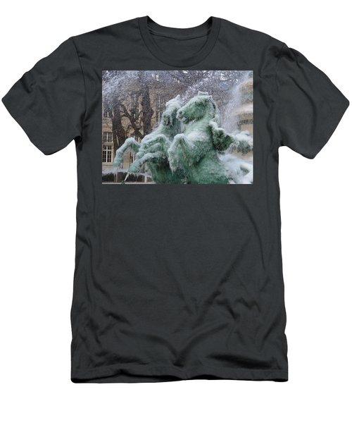 Paris Winter Men's T-Shirt (Athletic Fit)