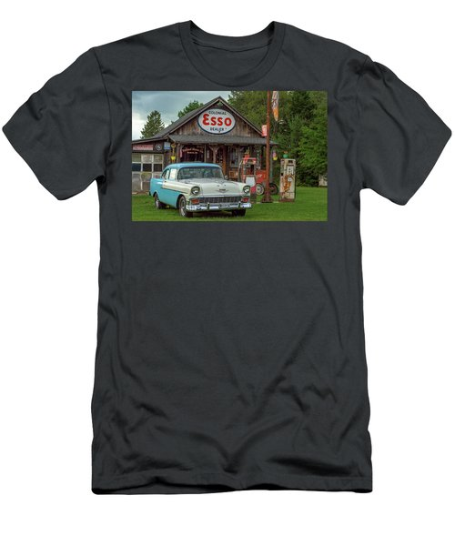 Parked At Ferland Motor Company Men's T-Shirt (Athletic Fit)