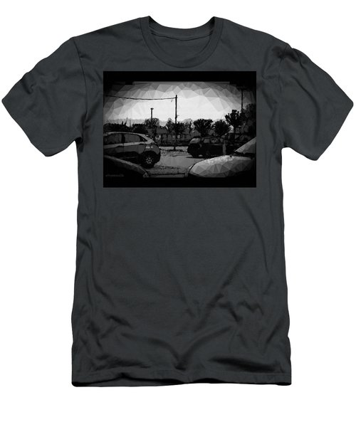Men's T-Shirt (Slim Fit) featuring the photograph Parking by Mimulux patricia no No