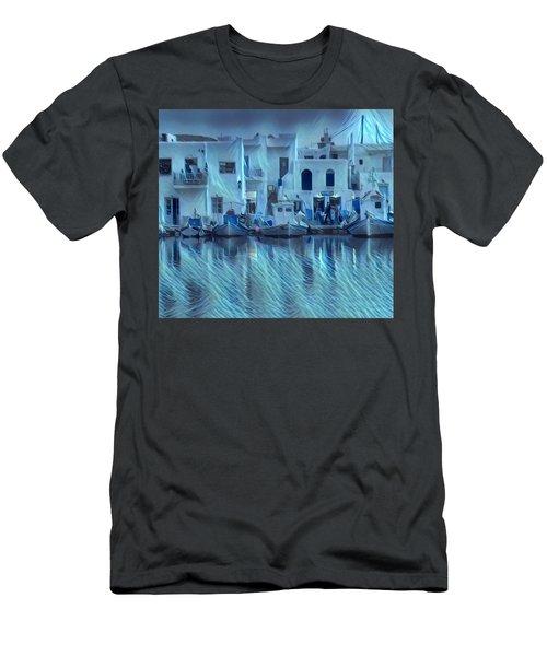 Paros Island Beauty Greece Men's T-Shirt (Athletic Fit)