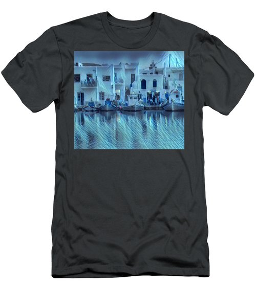 Paros Island Beauty Greece Men's T-Shirt (Athletic Fit)