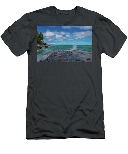 Partly Sunny Men's T-Shirt (Athletic Fit)