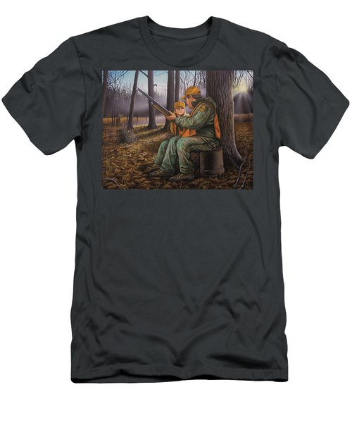 Pass It On - Hunting Men's T-Shirt (Athletic Fit)