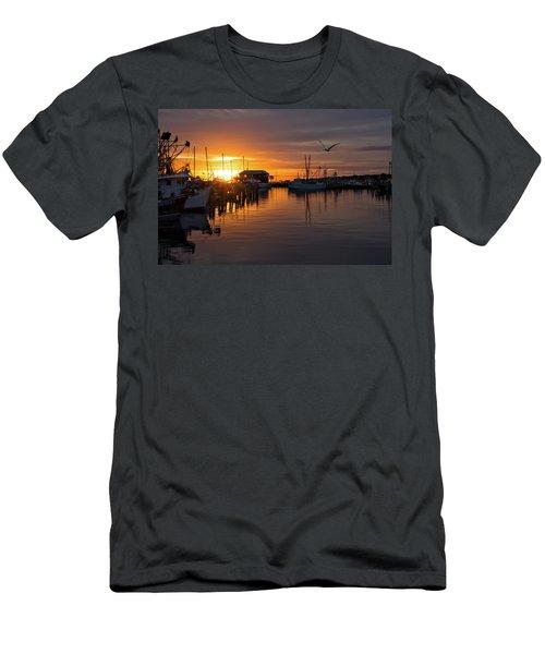 Pass Sunset Men's T-Shirt (Athletic Fit)