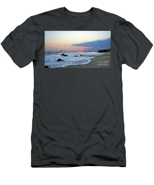 Men's T-Shirt (Slim Fit) featuring the photograph Pastel Blue by Victor K