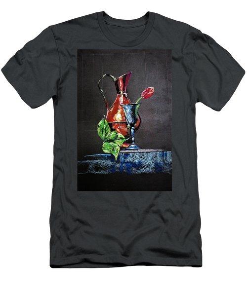 Pastel Glow Men's T-Shirt (Athletic Fit)