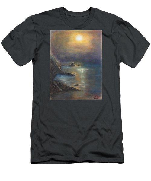 Pastel Msc 002 Men's T-Shirt (Slim Fit) by Mario Sergio Calzi